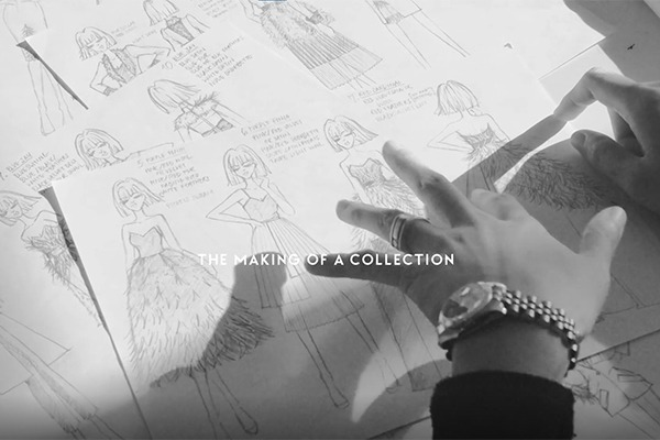 GRANDI making of a collection