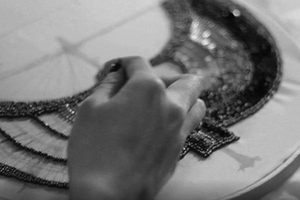 GRANDI making of embroidery