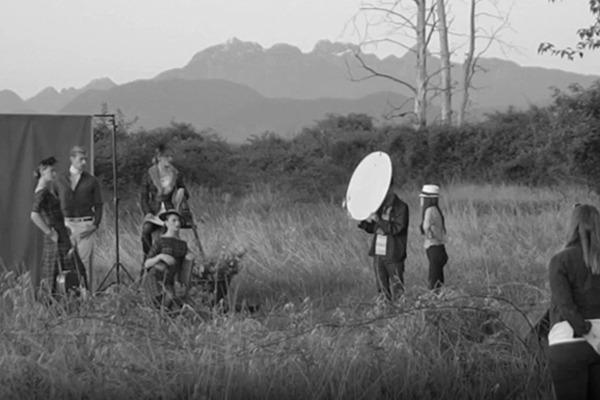 GRANDI photoshoot behind the scenes