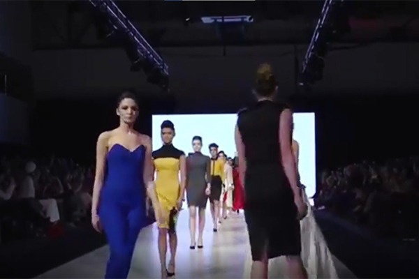 GRANDI Vancouver Fashion Week runway