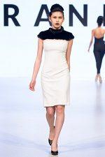 GRANDI Vancouver Fashion Week black white dress